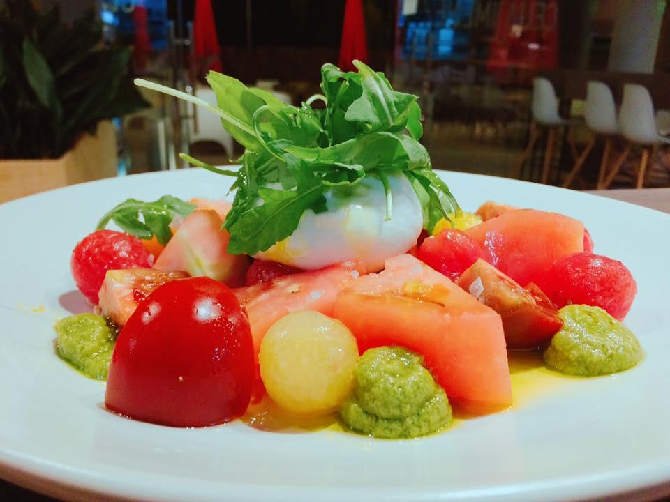 Tomates de verano. Celia Jimenez Restaurante